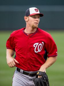 Stephen Strasburg. Photo by Keith Allison, used under Creative Commons license