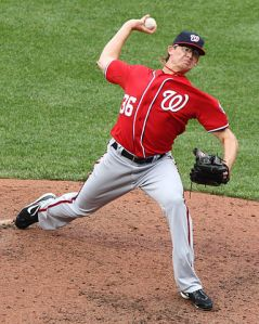 """Tyler Clippard 2011"" by Keith Allison on Flickr"
