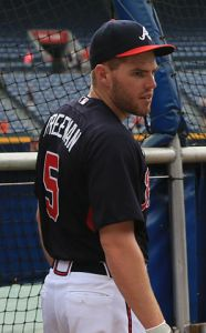 Freddie Freeman. Photo: Bruce Tuten via Wikimedia Commons