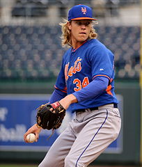 Noah Syndergaard; Photo: Arturo Pardavila III